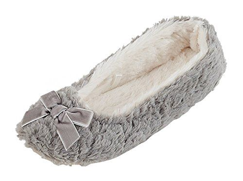 MIXIN Womens Ladies Slippers Ballet Flat Roll Up Shoes