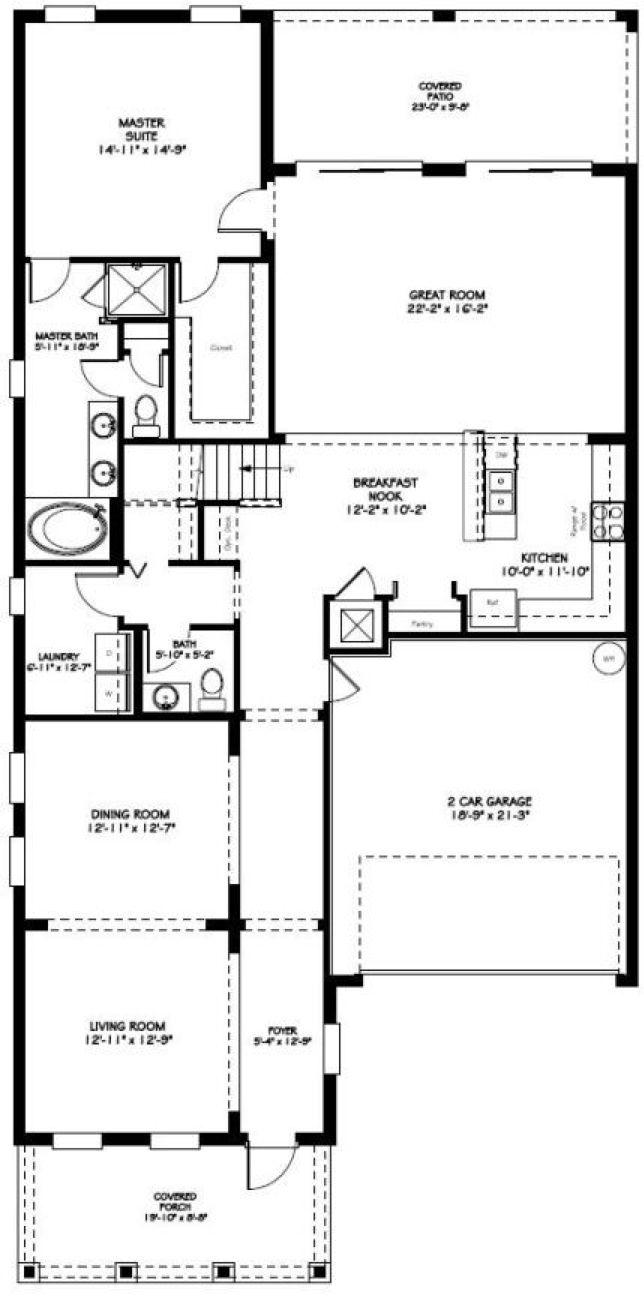 Valencia First Floor Plan In Independence Winter Garden Fl