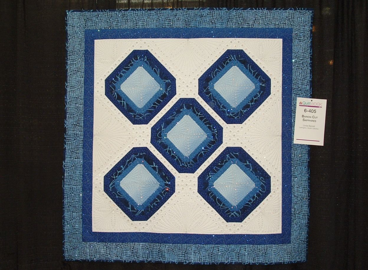 Barion Cut Sapphires photo from AQS Quilt Show in Chattanooga, TN ... : aqs quilt show - Adamdwight.com