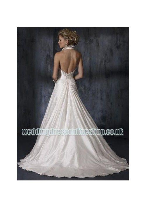 wedding dress collar