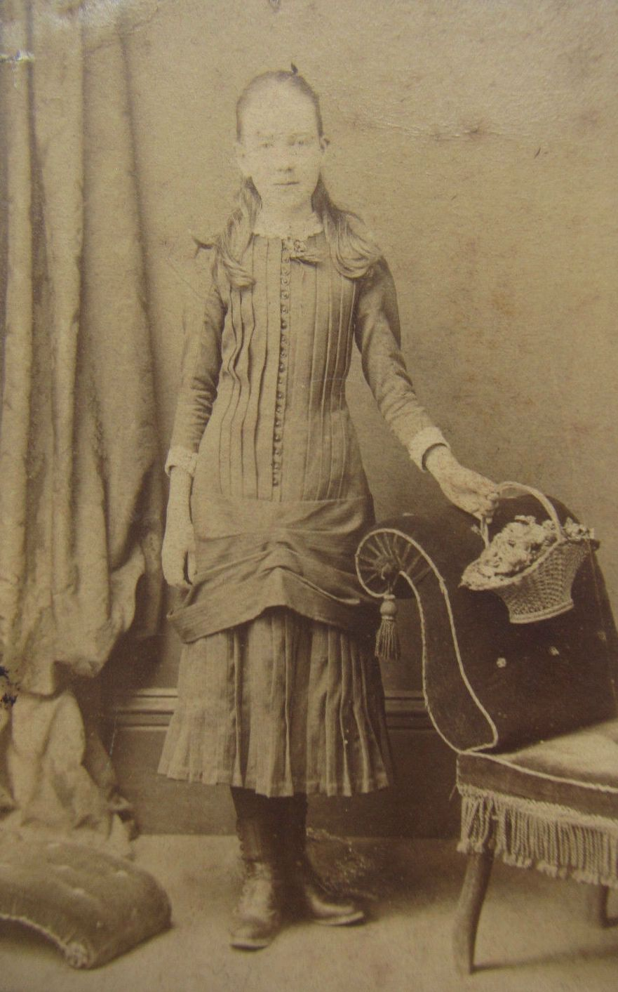 Young Lady c. 1870s-80s