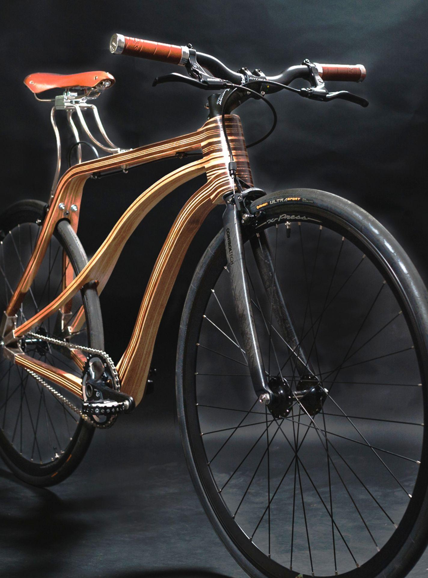 QiruBike Manufakt: Holzfahrrad nach Maß   Holzfahrrad