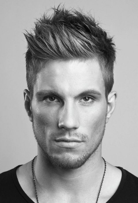 Nice razored texture, creating a natural feel. 50 Latest Men Hairstyles 2013 Gallery