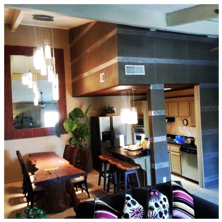 Wood Dining Room, South Padre
