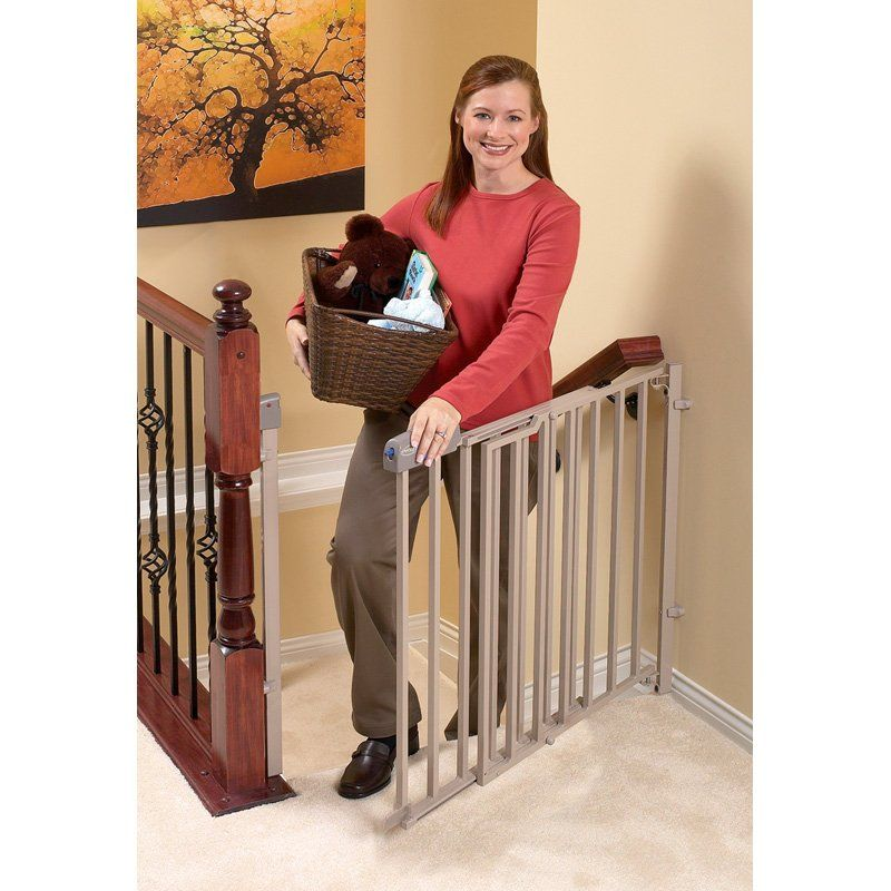 Have to have it. Evenflo Secure Step Top of Stair Gate 59