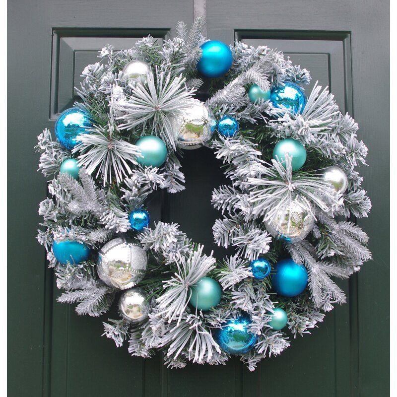 Christmas Ornaments Polyvinyl Chloride Wreath Christmas Wreaths Christmas Wreath Craft Silk Wreaths