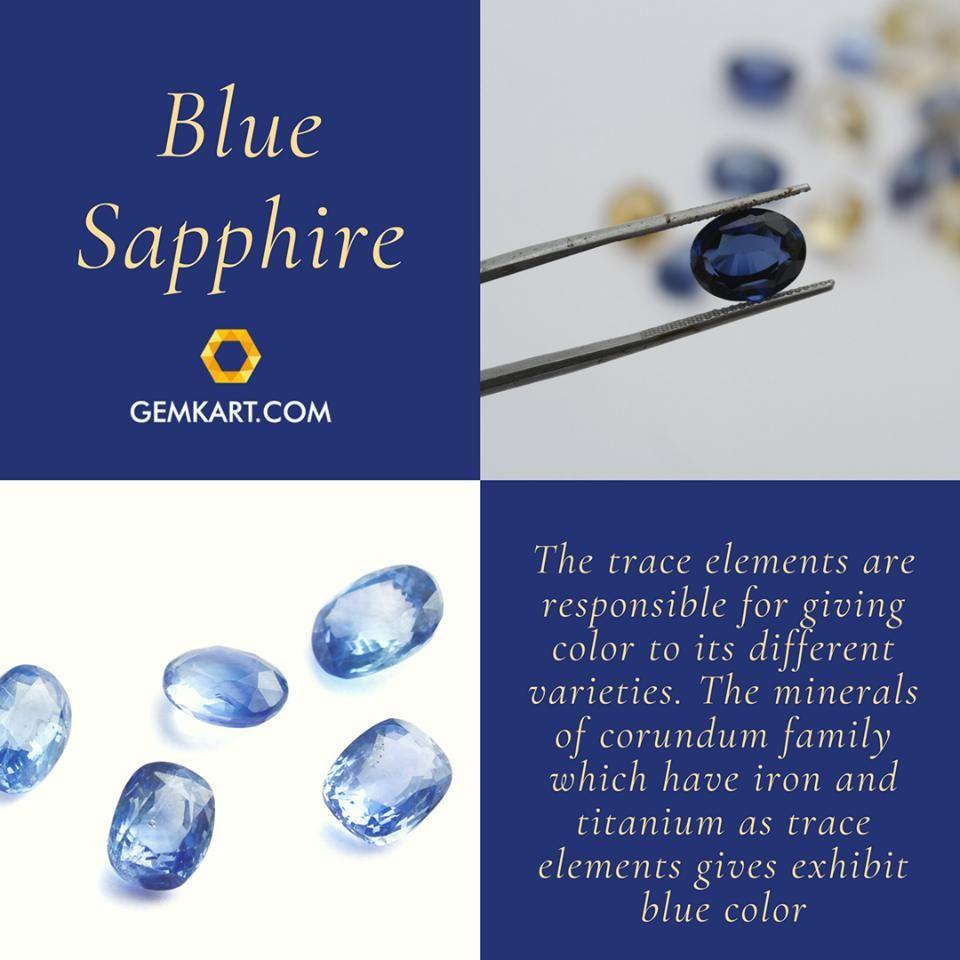 Buy Certified Blue Sapphire Neelam Gemstones Online Gemkart Buy Original And Natural Blue Sapphire Gemstone On Buy Gemstones Gemstones Natural Blue Sapphire