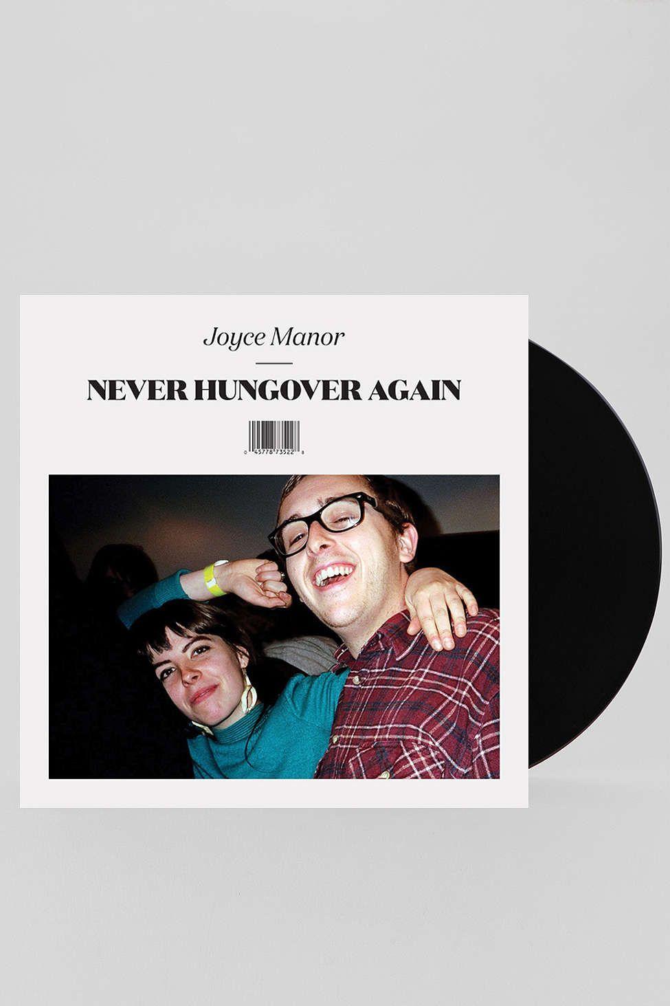 joyce manor  never hungover again lp