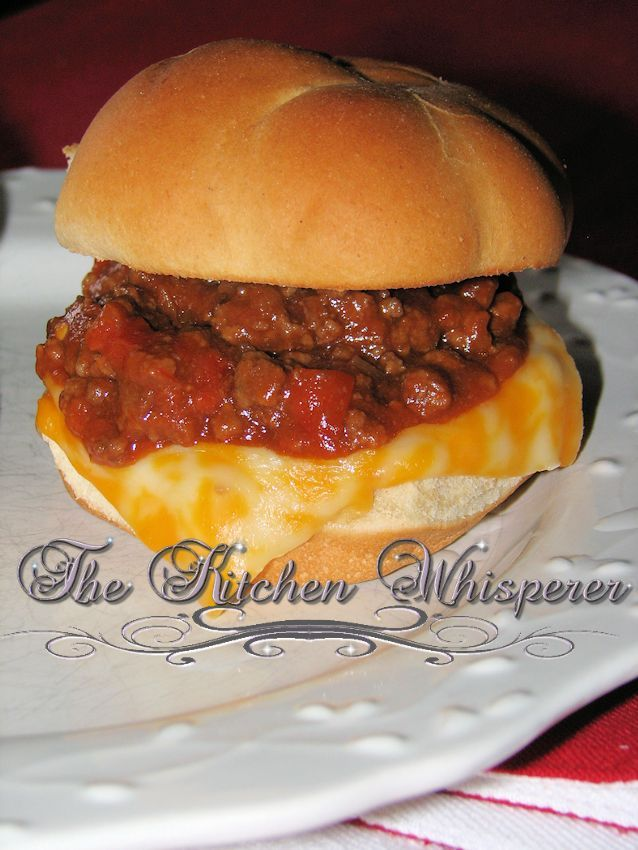 The Kitchen Whisperer not your lunch lady Sloppy Joes