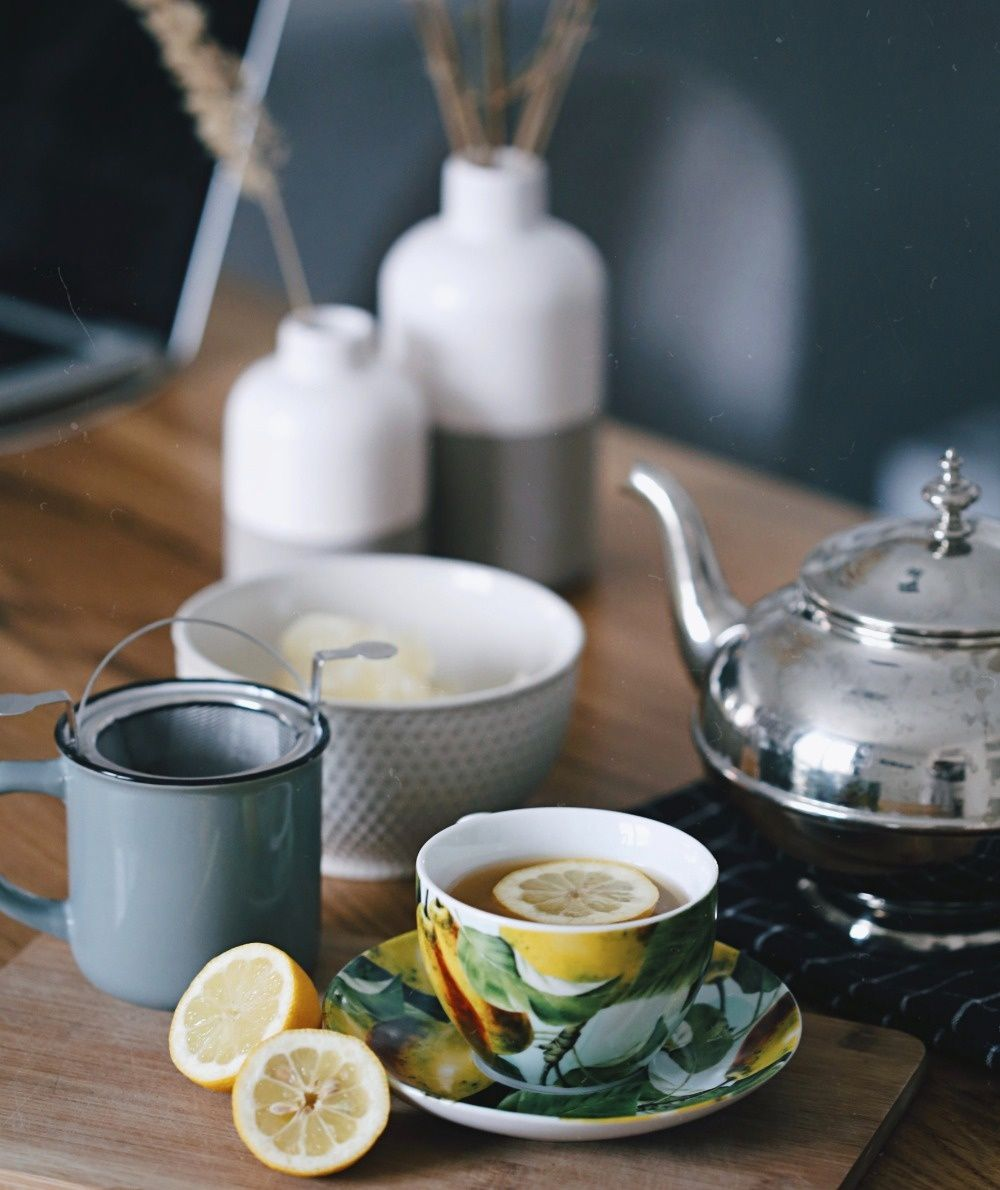 Relax and unwind with tea...especially needed in this