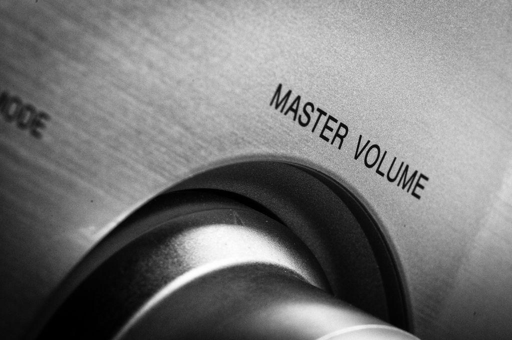 master volume still on.. ooooooo | by srvmusti