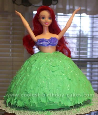 Coolest The Little Mermaid Cakes on the Webs Largest Homemade