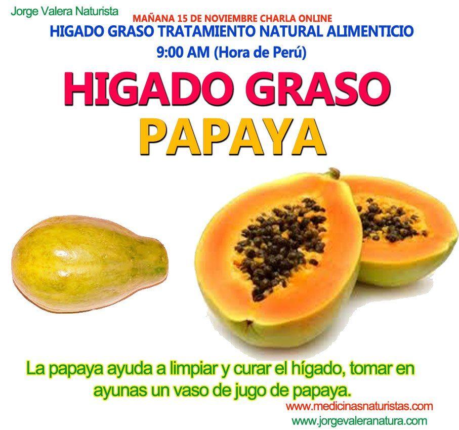te de hoja de papaya para el higado
