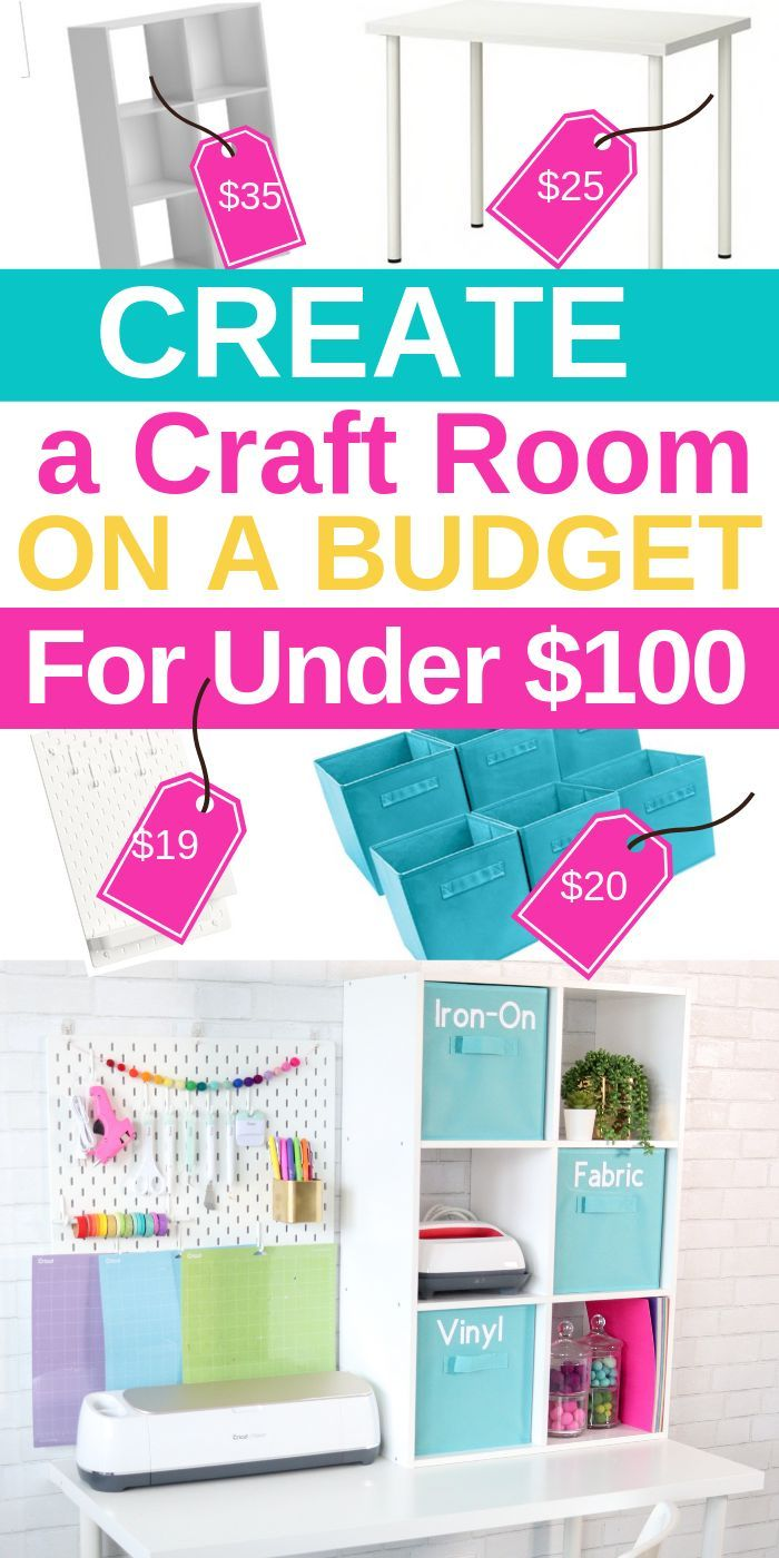 Create A Cricut Craft Room On A Budget images