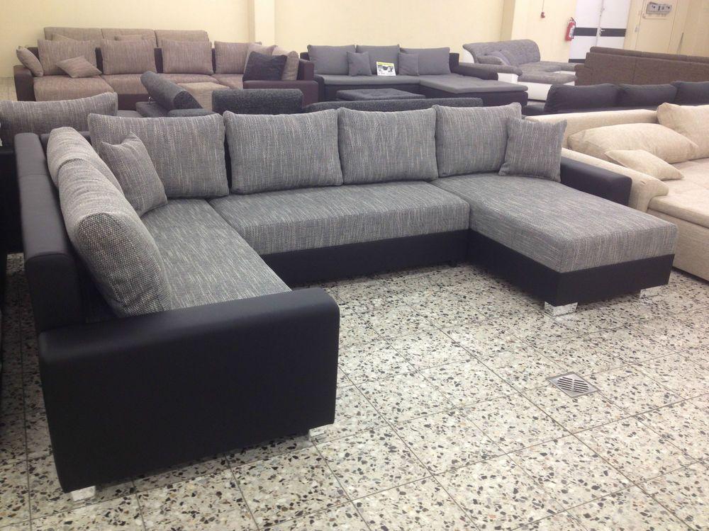 u BETTSOFA SchlafCOUCH Sofa COuch Wohnlandschaft
