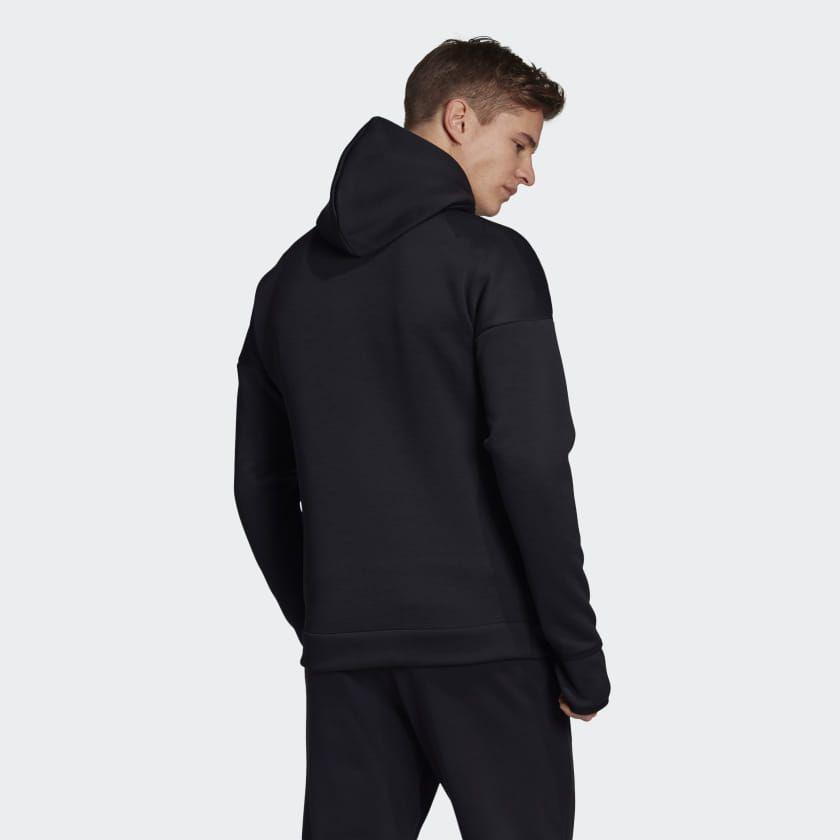 adidas Z.N.E. Fast Release Hoodie Black Mens en 2020 | Veste