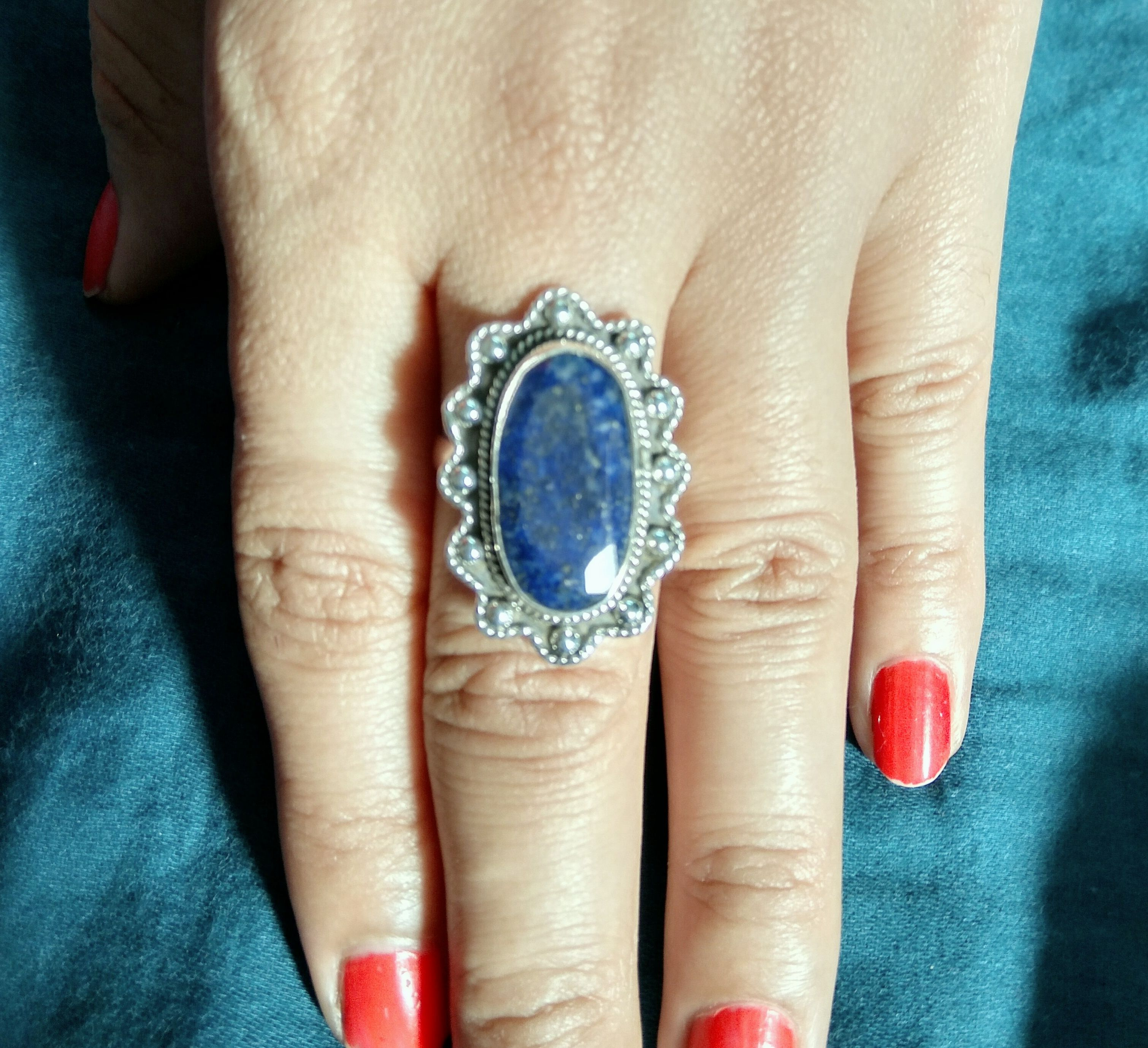 Designer Ring Promise Wedding Ring Bridesmaids Gift For Her Long Ring Statement Ring Sapphire Ring 925 Silver Ring Outstanding Ring