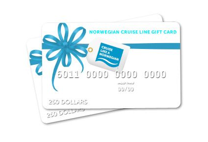Norwegian Cruise line Gift Card | ideas for me at Christmas ...