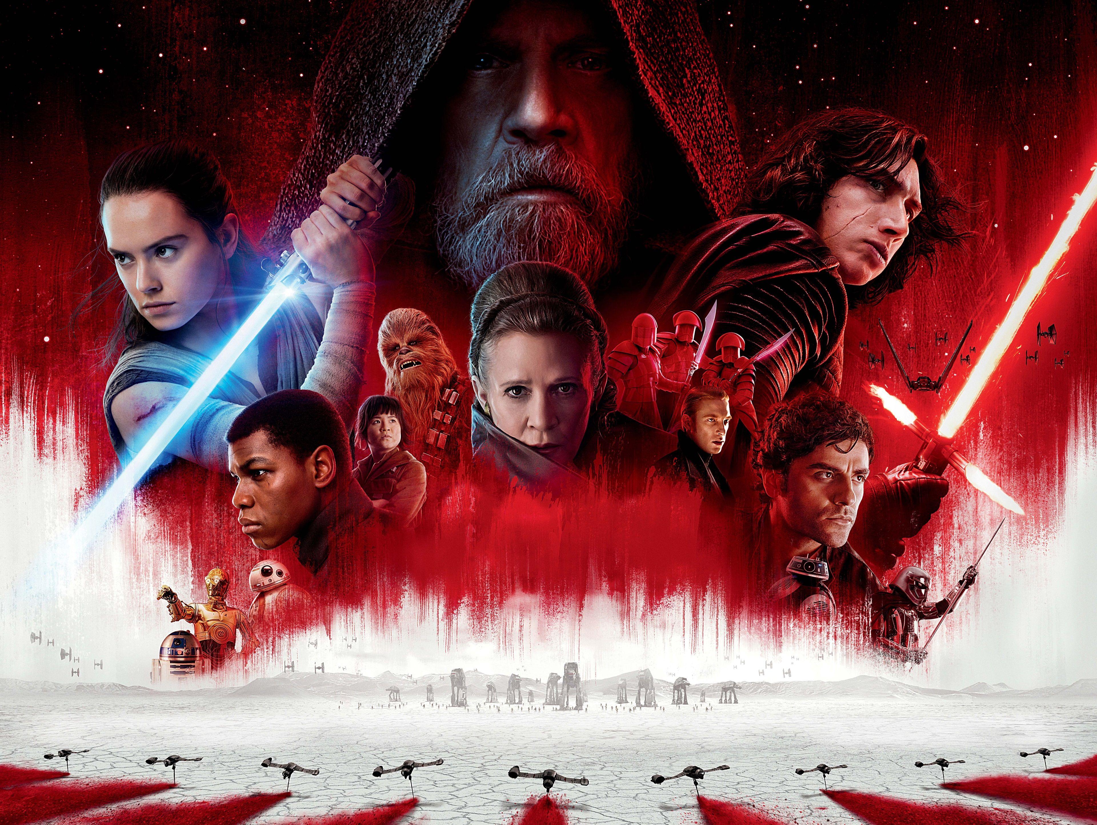 Star Wars The Last Jedi Wallpaper Starwars Star Wars Film Star Wars Movie Star Wars Watch