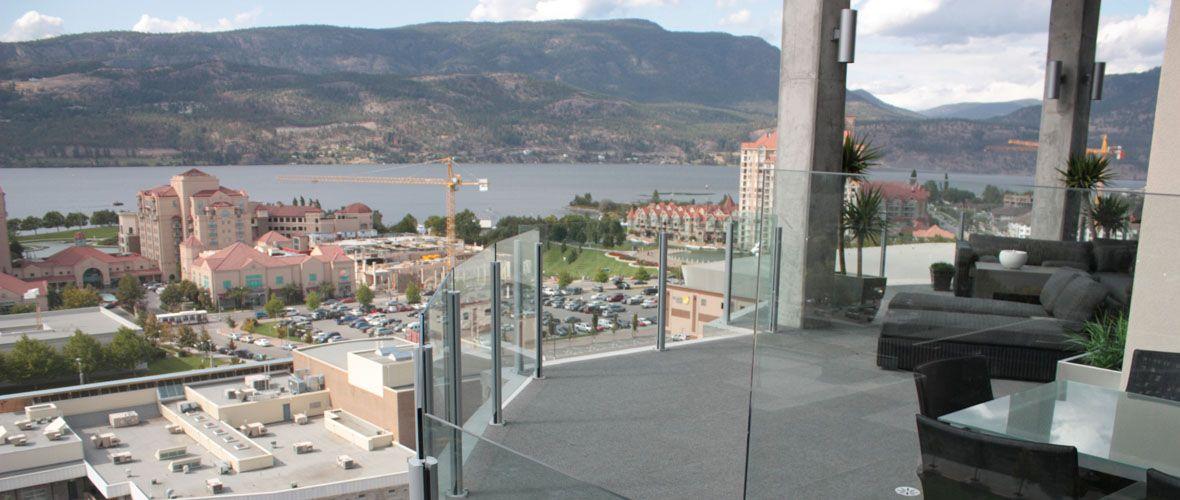 Topless Glass Railing Balcony