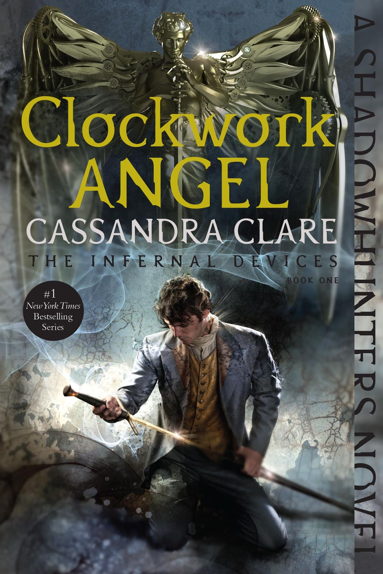 New Covers For The Infernal Devices: Clockwork Angel By Cassandra Clare,  Featuring William Herondale