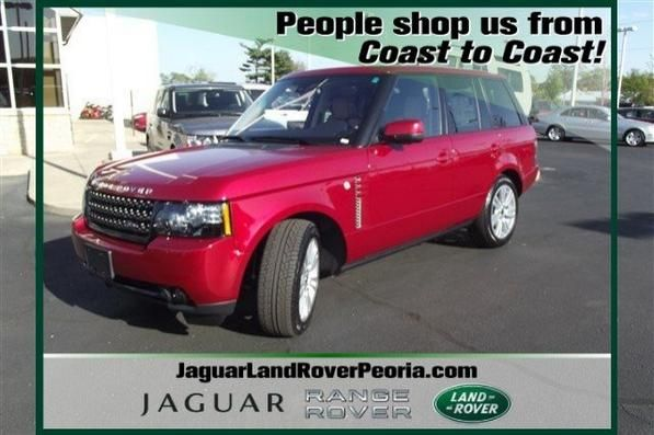 New 2012 Land Rover Range Rover Hse Lux For Sale In Peoria Il Vin Salmf1d44ca379529 All The Luxury One Could As Land Rover Range Rover Hse Jaguar Land Rover
