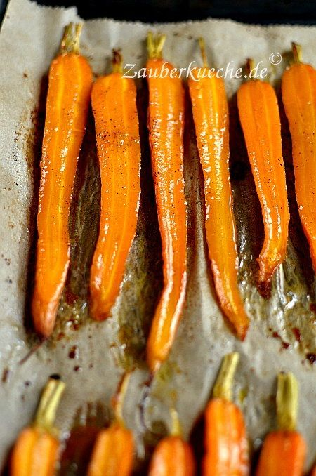 Photo of Carrots out of the oven