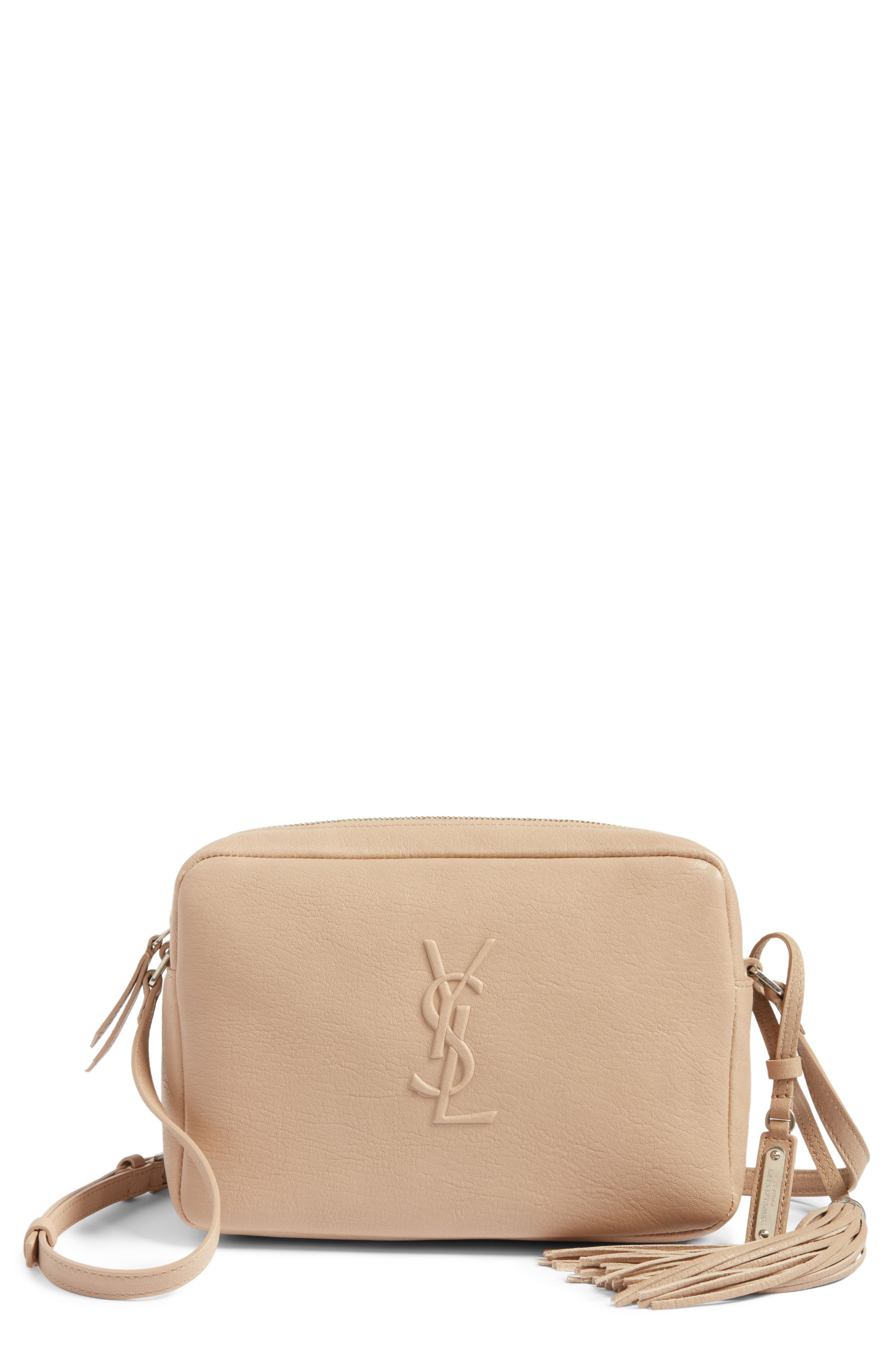 7cd787466ddb saint laurent small mono leather camera bag