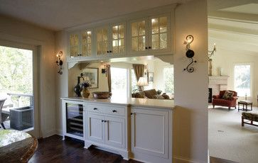 Traditional Home Kitchens With Pass Thru Design Pictures Remodel