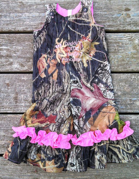 Hey, I found this really awesome Etsy listing at https://www.etsy.com/listing/163212385/girls-hunting-princess-camo-ruffle