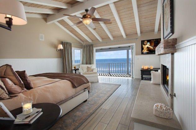 des d corations de plage pour votre chambre coucher deco chambre pinterest maison. Black Bedroom Furniture Sets. Home Design Ideas