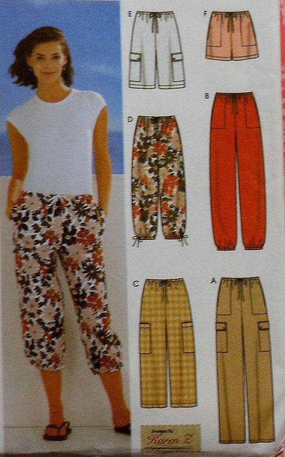 Lazo pantalones y pantalones cortos patrones de por latenightcoffee