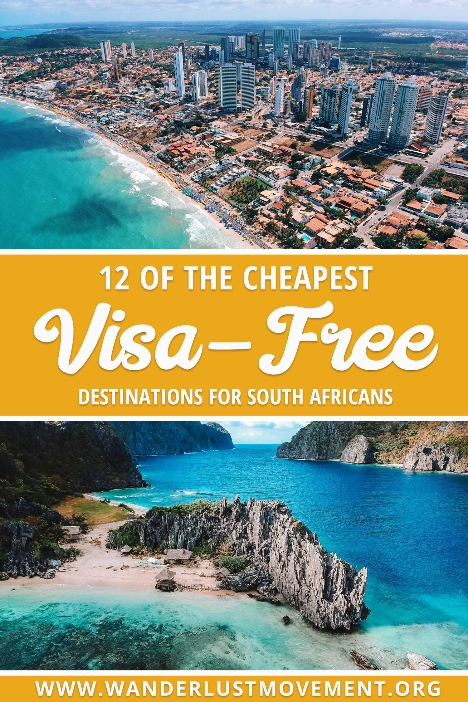 The Cheapest Visa-Free Destinations for South Africans