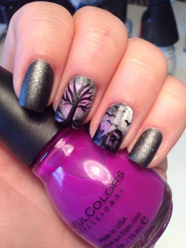23 Crazy Halloween Nail Designs You Can Do At Home! (With ...
