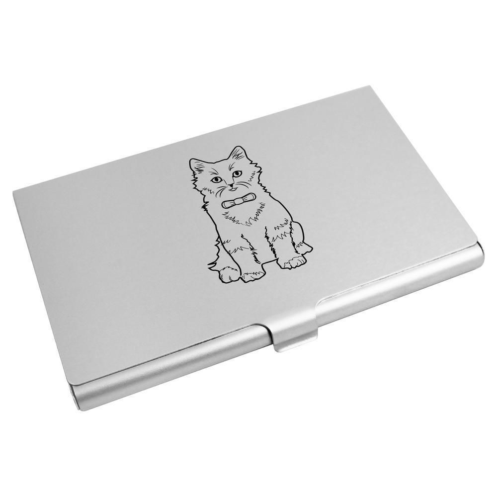Fancy Cat\' Business Card Holder / Credit Card Wallet (CH00012788 ...
