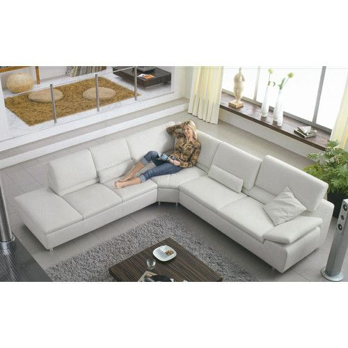 Hokku Designs Stanton Elite Leather Sectional  sc 1 st  Pinterest : elite leather sectionalsn - Sectionals, Sofas & Couches