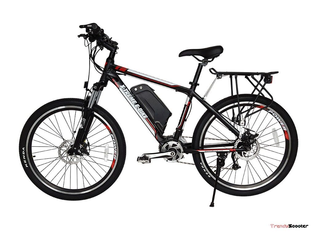 X Treme Summit 48 Mid Motor Electric Mountain Bicycle