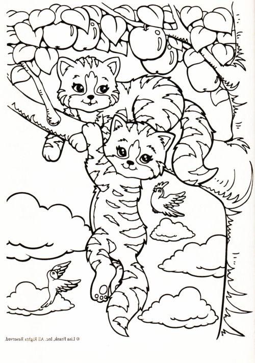Kleurplaat Poezen In Appelboom Coloring Pinterest Coloring