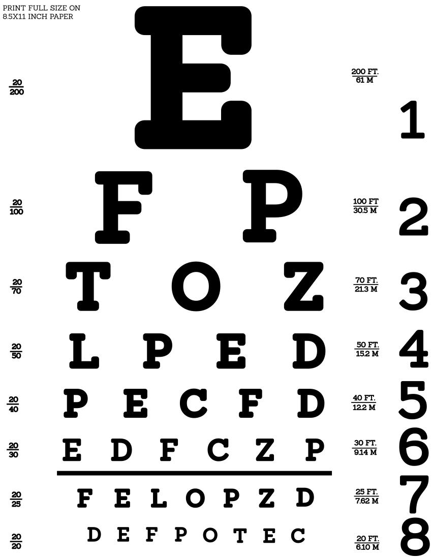 Eye Test Chart Snellen Medical Eye Test Chart Snellen Png Html In 2020 Eye Test Chart Eye Chart Eye Test