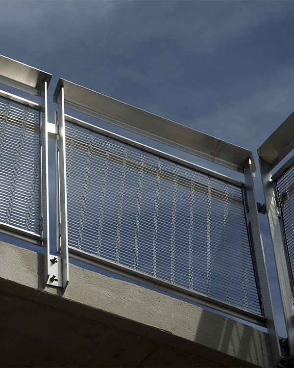 HAVER Architectural Mesh is woven from many high-tensile wires ...