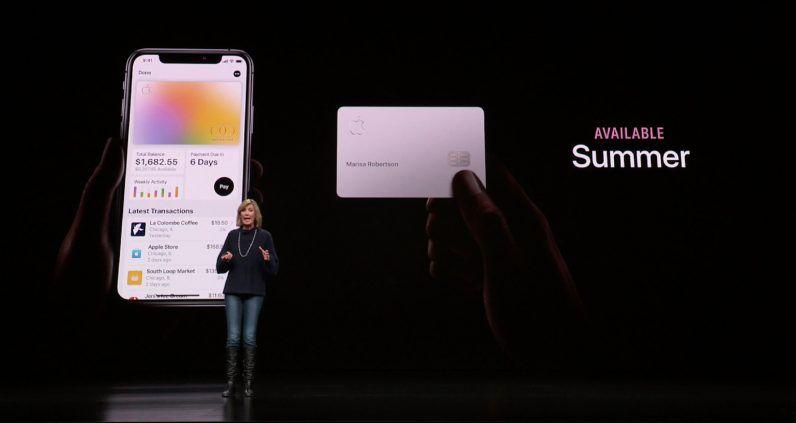 Apple announces Apple Card, a titanium credit card that aims to