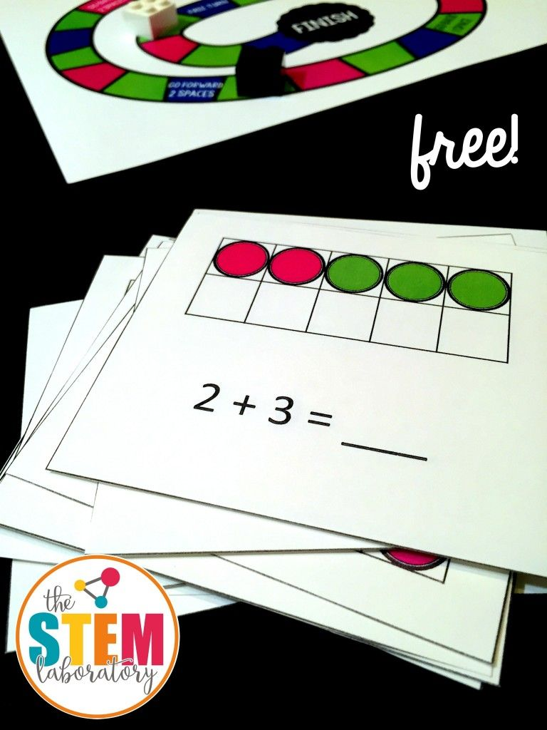 A free ten frame board game! The perfect kindergarten or first grade ...
