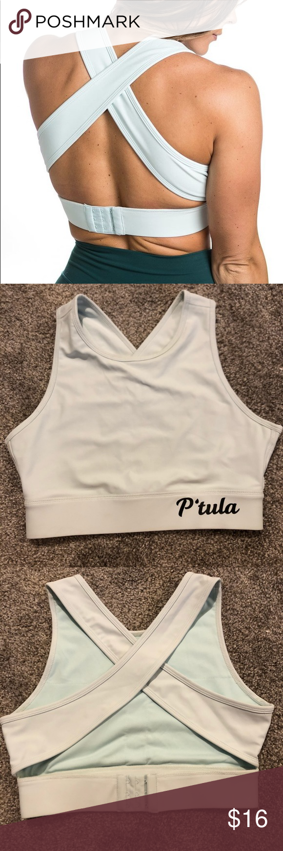 Ptula Araceli Fierce Crop Top Color Cool Mint Size Medium Condition Like New No Signs Of Wear P Tula Tops Crop Tops Crop Tops Fashion High Neck Bikinis Code kelly for ptula active! pinterest