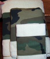 Camouflage Towels 3pc Set Bath Towel Towels Army Camo Camouflage
