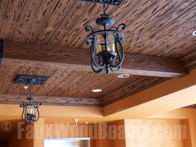 Prefinish Tongue And Groove Cypress Ceiling Planks