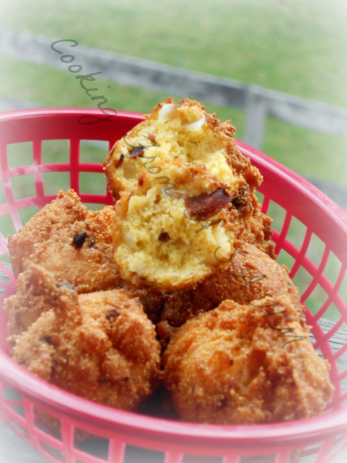Cooking from a Stay at Home Mom Hushpuppies from Heaven