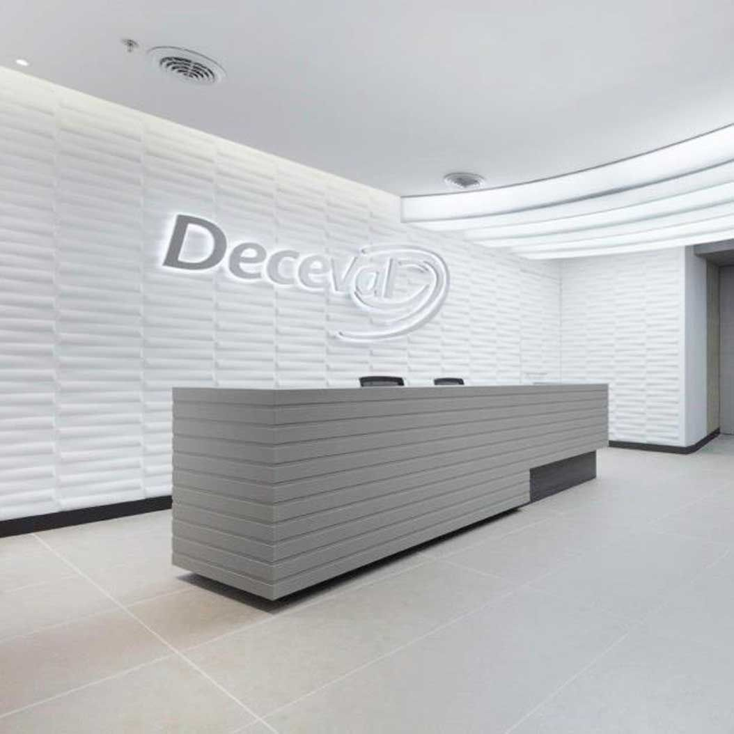 Wall Flats 3-D Wall Tiles (Seesaw) [Office, Commercial Application ...