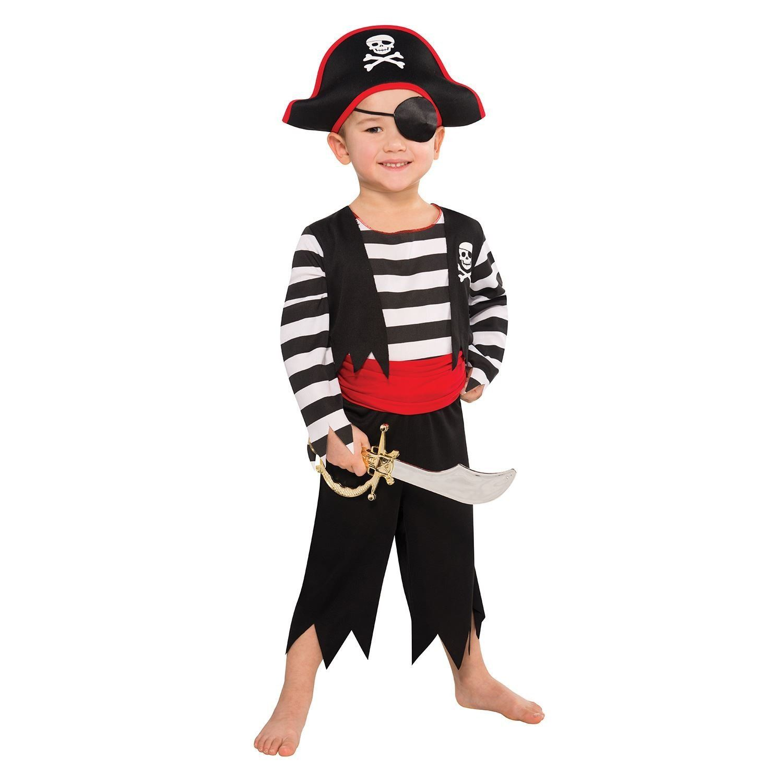 Déguisement enfant - Pirate - 3-4ans: Amazon.fr: Jeux et Jouets