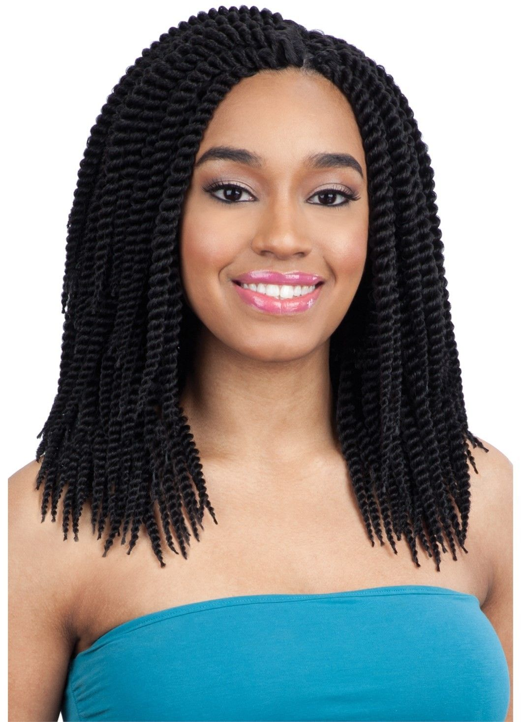 Model Model Glance Crochet Braid CHUNKY SENEGAL 10 INCH Protective