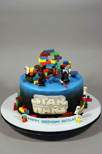Lego Star Wars Cakes Ideas Google Search Met Afbeeldingen